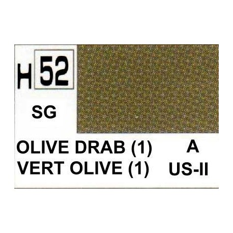 AQUEOUS SEMI GLOSS OLIVE DRAB 1