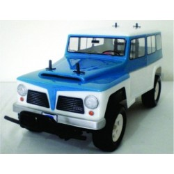 BOLHA TRANSPARENTE RURAL WILLYS FORD ROCK CRAWLER