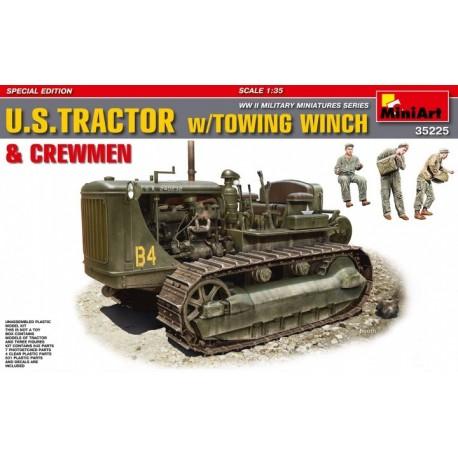 US TRACTOR W/ TOWING WINCH & CREWNEN SPECIAL ED