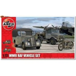 WWII RAF VEHICLE SET