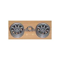 1/8 ROVER MINI COOPER RACING WHEELS (PAR)