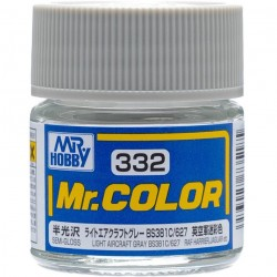 MR COLOR SEMI GLOSS LIGHT AIRGRAFT GRAY