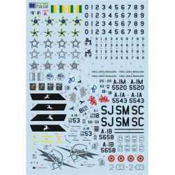 DECAL AMX A-1A / B / M
