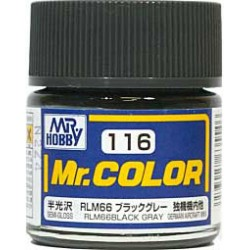 MR COLOR BLACK GREEN RLM66