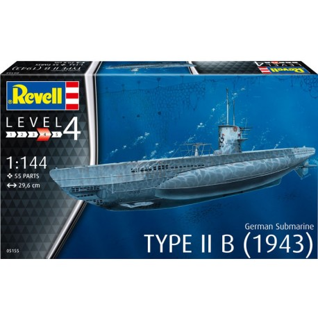 GERMAN SUBMARINE TYPE IIB (1943)