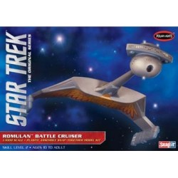 STAR TREK ROMULAN BATTLE CRUISER
