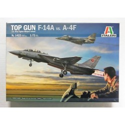 TOP GUN F-14A VS A-4F