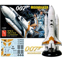 007 MOONRAKER SPACE SHUTTLE W/ BOOSTERS